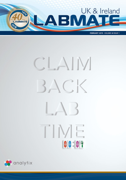 A recent edition of Labmate UK & Ireland