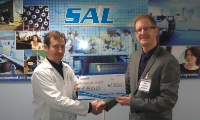 Daniel Scott of Scientific Analysis Laboratories wins €500 Labmate Competition