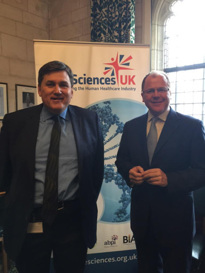 Parliamentary Group to Raise Profile of UK Life Sciences Sector