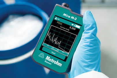 Handheld Raman Spectrometer for On-Site Verification of Materials in Seconds