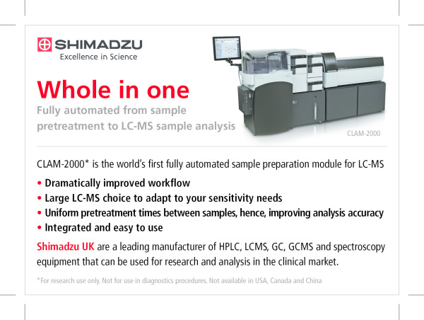 Shimadzu Events Labmate Online