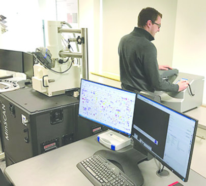 Carbon & Sputter coater Incorporated into Mineralogy Laboratory System to Prepare Mineral Samples for Analysis