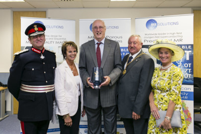 MR Solutions receives Queen's Award from Lord-Lieutenant of Surrey