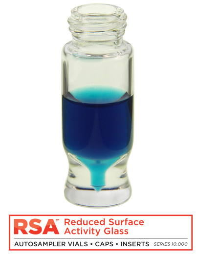MicroSolv RSA™ Vials with Reduced Surface Activity Glass – Protect Your Data from Poor Reproducibility