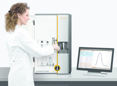 Precise Carbon/Sulphur Analysis with Flexible Measuring Range