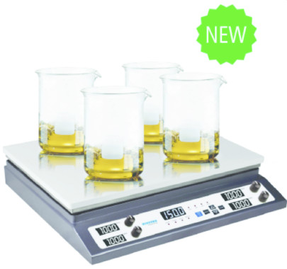 New Digital Hot Plate/Stirrers Feature Multistation Design