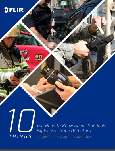 Guide to Trace Explosives Detector Selection