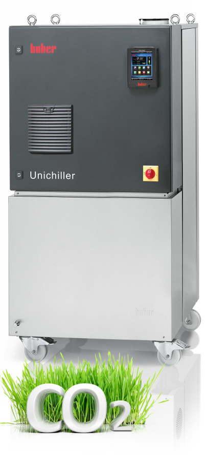 New Circulating Cooler with CO<sub>2</sub> Refrigerant