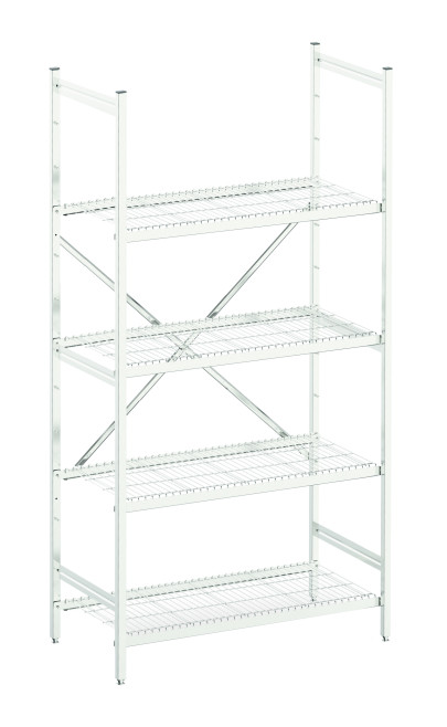 Latest Modular Storage Options Extended to Include Wire Shelving