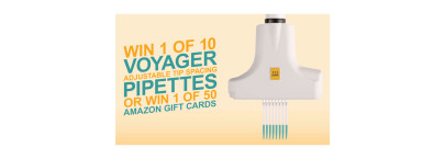 Win an Integra Voyager Adjustable Tip Spacing Pipette