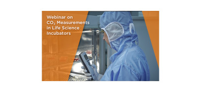 On-demand webinar: CO<sub>2</sub> Measurement in Life Science Incubators. Watch now!