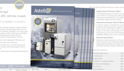 New Autoclave and EDS Product Guide Released