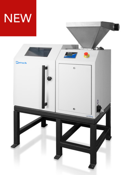 Rotating Sample Divider Provides Division and Volume Reduction for Powdered or Granular Bulk Materials