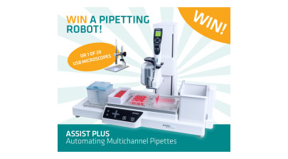 Win an ASSIST PLUS Pipetting Robot from INTEGRA