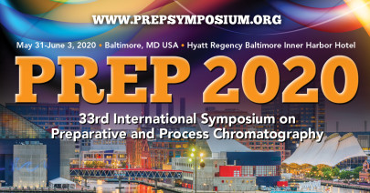 PREP 2020: Latest Trends and Practices in Process Chromatography May31 – June3
