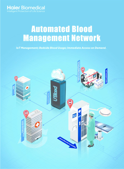 Automated Blood Management Network Solution