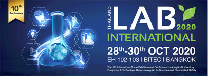 New Dates for Thailand Lab International: Get Ready to Celebrate the 10th Anniversary of the Show in October 2020