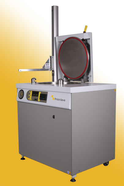 Top Loading Autoclaves the real alternative for small Labs